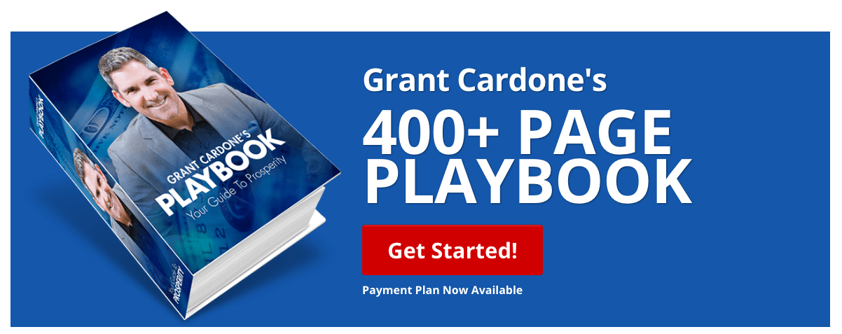 Grant Cardone's Playbook