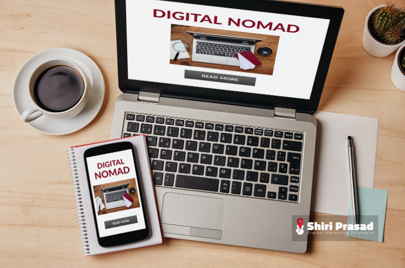 Shiri Prasad - Digital Marketing Nomad